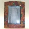 """Caned"" spiral pattern photo frame 4""x5"" picture size."